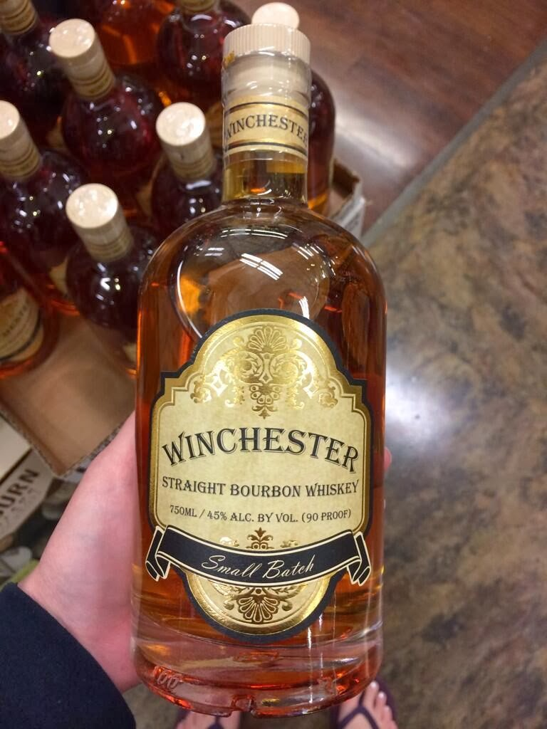 winchester bourbon whiskey
