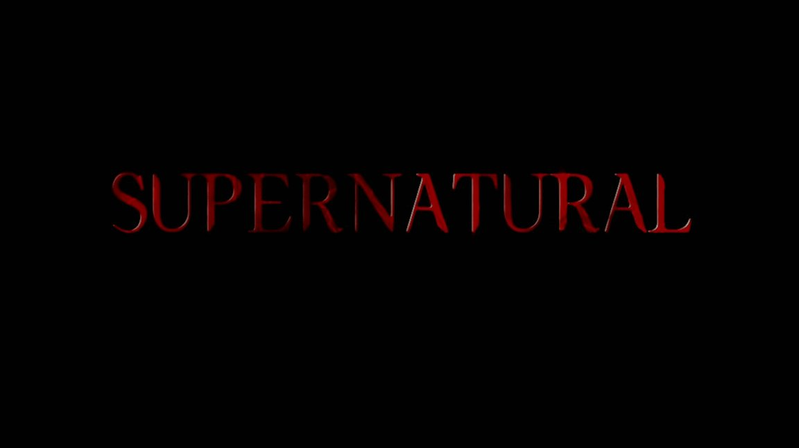 Supernatural Season Four title card