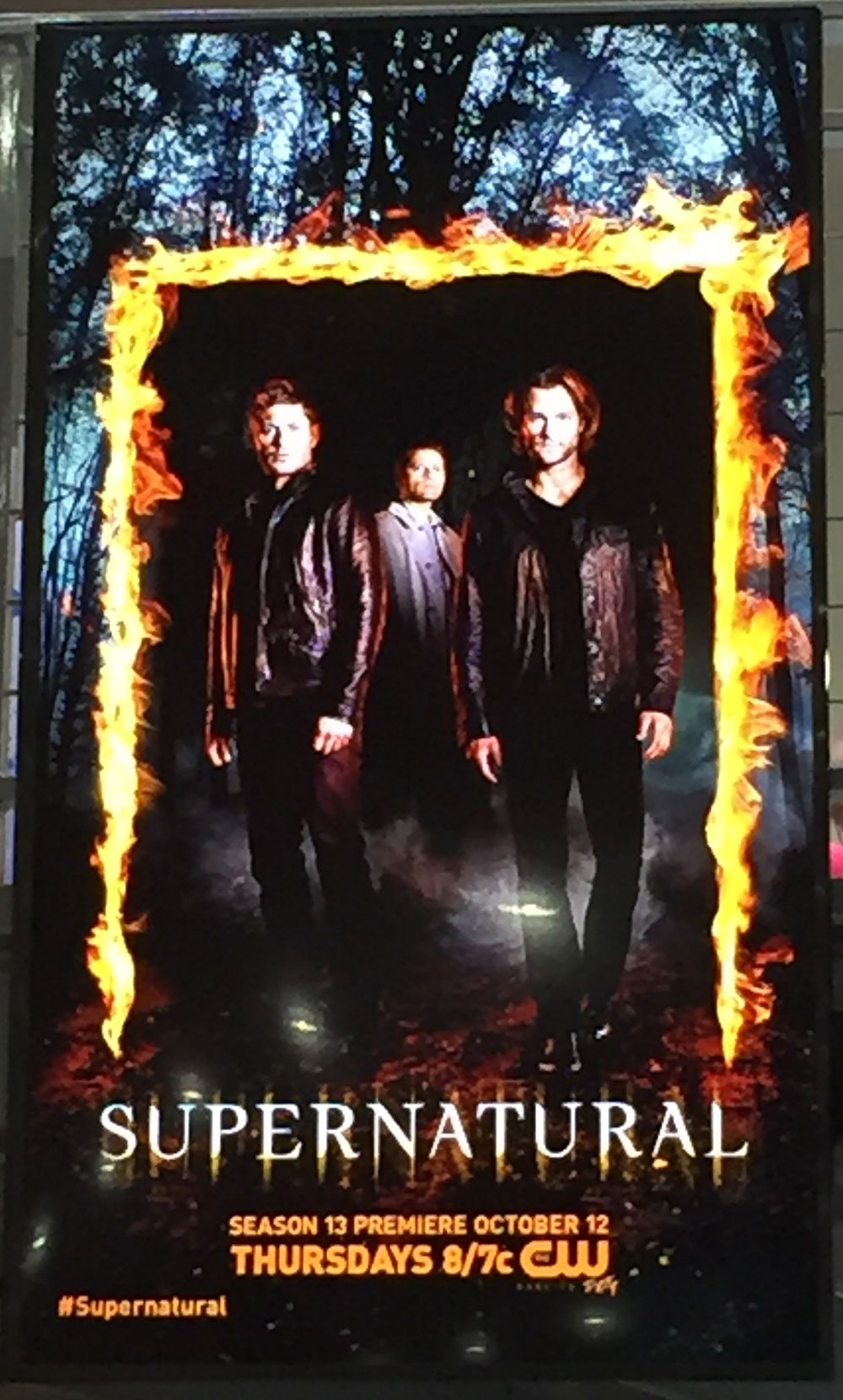 sdcc17 supernatural poster