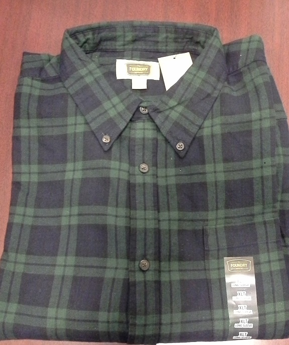 Plaid shirt orig 4456
