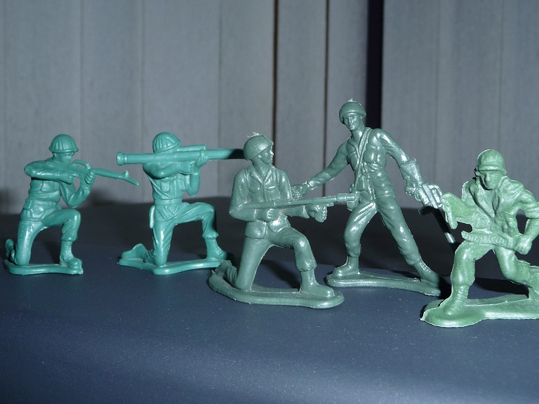 Toy soldiers 2